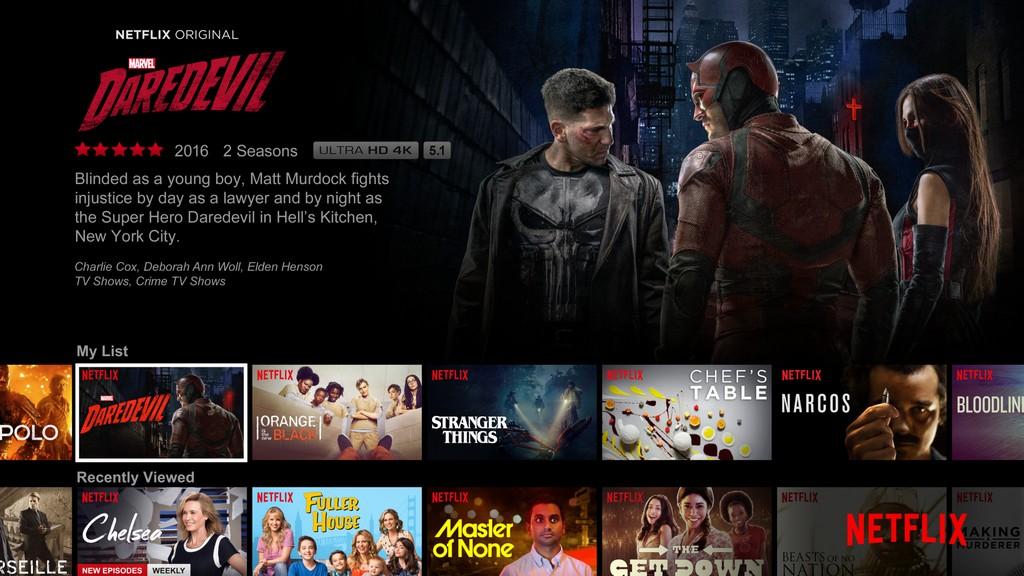 Netflix app for tv