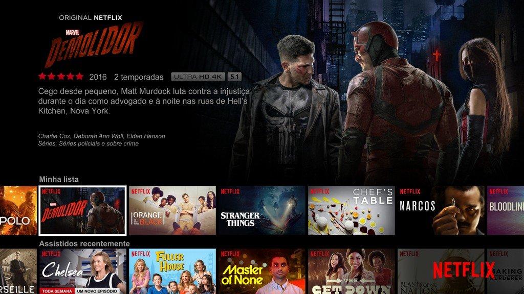 Netflix app TV